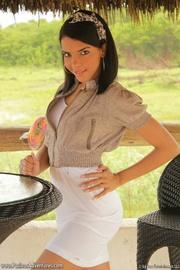 cool latina teen girl