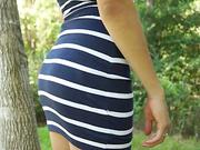 nasty girl striped dress
