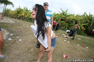 College girls get wild after awesome out - XXX Dessert - Picture 4