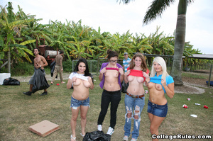 College girls get wild after awesome out - XXX Dessert - Picture 5