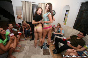 Drunk college girls get wild and start f - XXX Dessert - Picture 2