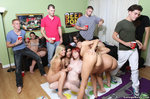 Naked college girls playing twister and  - XXX Dessert - Picture 5