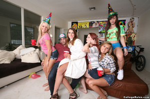 Cool pictures from very funny college bi - XXX Dessert - Picture 1
