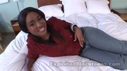 lovely black teen girl