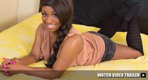 Ebony teen with red hair and tattooed bo - XXX Dessert - Picture 4