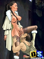 super sexy cartoon lara