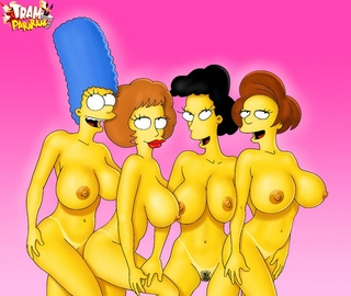 simpsons women collected fun