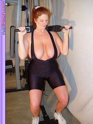 Busty Babe Works Out - XXX Dessert - Picture 12
