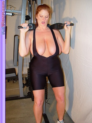 Busty Babe Works Out - XXX Dessert - Picture 13