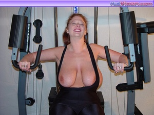 Busty Babe Works Out - XXX Dessert - Picture 15