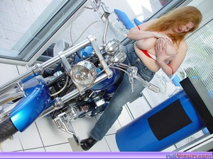 Biker Babe Toni KatVixen Shows Off Her C - XXX Dessert - Picture 18