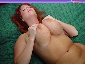 Toni KatVixen Plays With Her Gigantic Ti - XXX Dessert - Picture 4