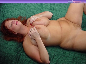 Toni KatVixen Plays With Her Gigantic Ti - XXX Dessert - Picture 6