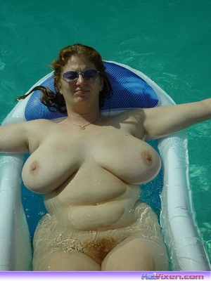 Laying Naked In The Pool - XXX Dessert - Picture 2