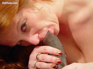 Toni KatVixen Sucks A Giant Black Cock - XXX Dessert - Picture 7