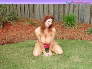 Hot Redhead Laying Out Sunbathing - XXX Dessert - Picture 7