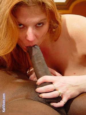 Toni KatVixen Sucks A Giant Black Cock - XXX Dessert - Picture 13