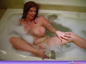 Sexy Toni KatVixen Takes A Bubble Bath - XXX Dessert - Picture 8