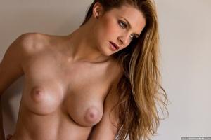 Seductive blonde babe in sexy lingerie e - XXX Dessert - Picture 11