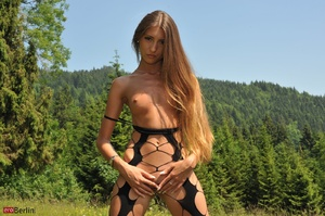 Small-titted chick with long blonde hair - XXX Dessert - Picture 16