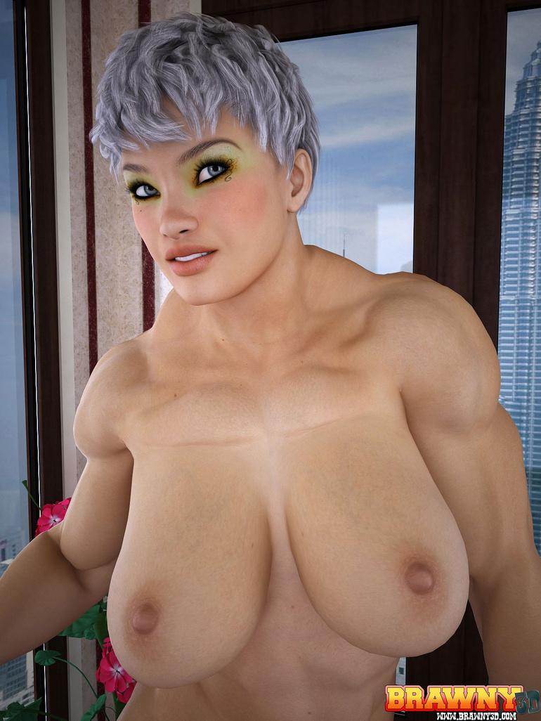 short hair porn