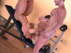 Horny dude seduces cool fit blonde to dirty sex in - Picture 8