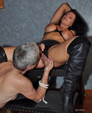 Very hot pics with horny mistress in lat - XXX Dessert - Picture 13