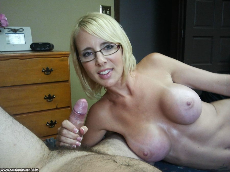Absolutely Moms nude in glasses