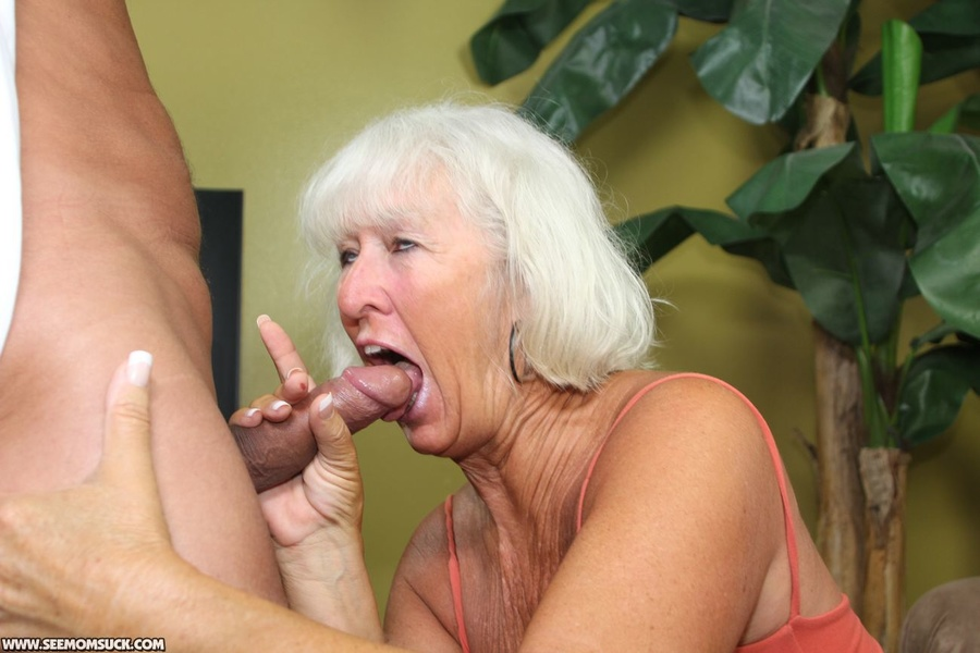 Old granny nude sucking cock