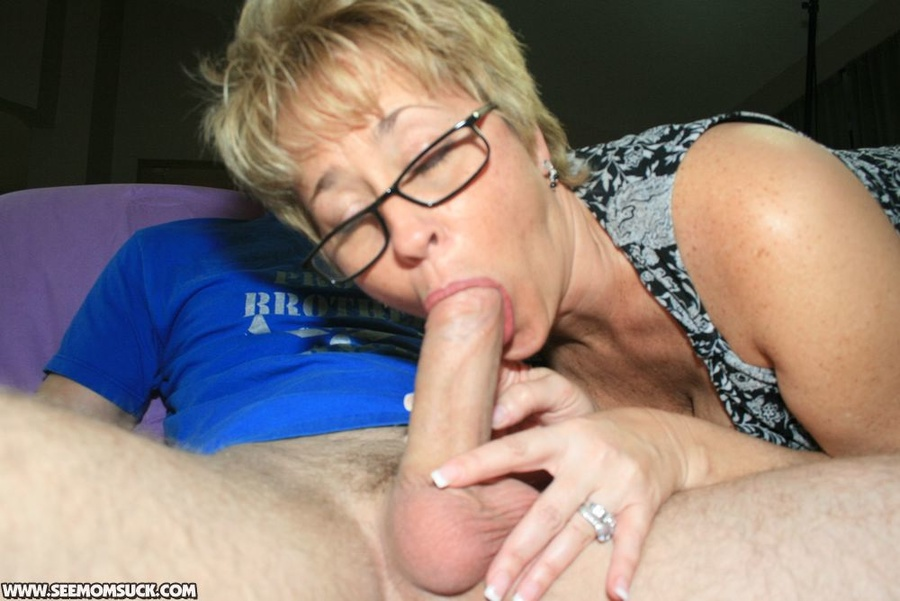 Opinion you Milf with glasses blowjob have thought