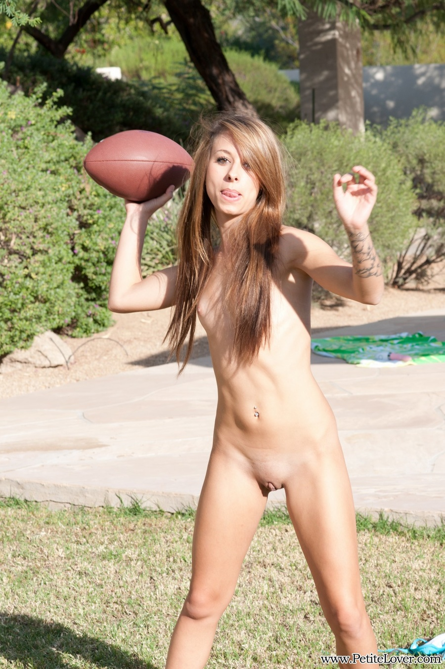 Naked Women Football