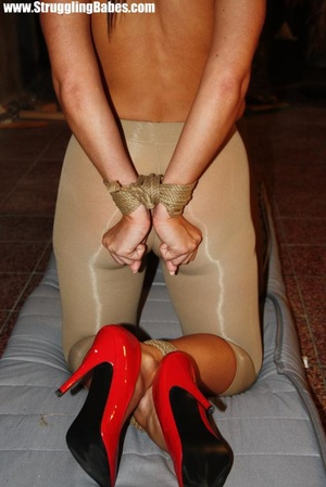 Two hot chicks in tights and high heels  - XXX Dessert - Picture 7