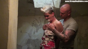 Short-haired blonde with her mouth stuff - XXX Dessert - Picture 21