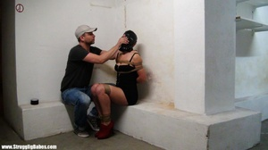 Dude ropes hot girl with her tits in shi - XXX Dessert - Picture 2