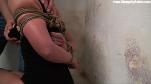 Dude ropes hot girl with her tits in shi - XXX Dessert - Picture 10