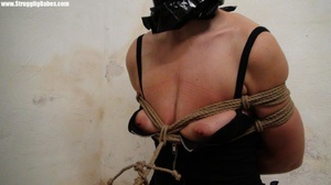 Dude ropes hot girl with her tits in shi - XXX Dessert - Picture 27