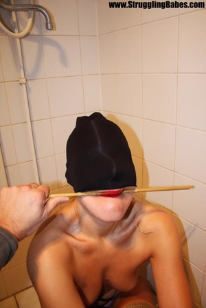 Poor naked girl with a stick in her mout - XXX Dessert - Picture 9