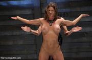 perverted mistress torturing her