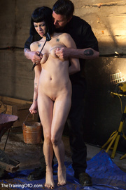 two enslaved girls with