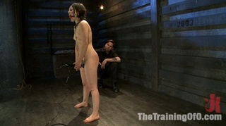 stretched girl gag-ball tortured