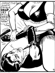 Stylish black and white porn bdsm - BDSM Art Collection - Pic 4