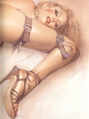 Awesome erotic fetish drawings with - BDSM Art Collection - Pic 8