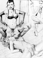 Hot black and white pics with dirtiest - BDSM Art Collection - Pic 8
