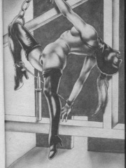 Best black and white comix with the - BDSM Art Collection - Pic 2