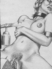 Best black and white comix with the - BDSM Art Collection - Pic 4