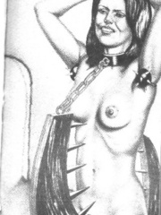 Best black and white comix with the - BDSM Art Collection - Pic 5