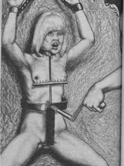 Best black and white comix with the - BDSM Art Collection - Pic 8