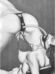 Get a bang out of watching awesome - BDSM Art Collection - Pic 5