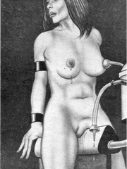 Get a bang out of watching awesome - BDSM Art Collection - Pic 7