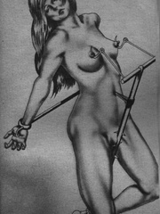 Get a bang out of watching awesome - BDSM Art Collection - Pic 12
